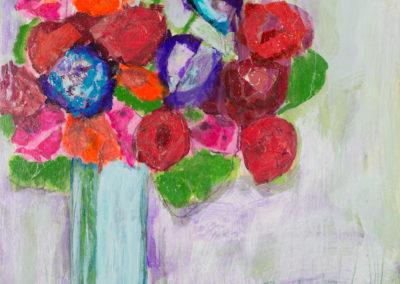 Drip Roses 30x30