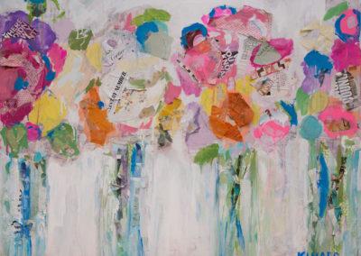 Market Flowers 36x48