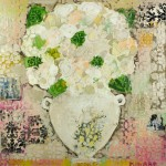 Honey a Hydrangea and a Kiss 36x36