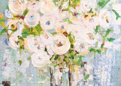 White Roses 36x36