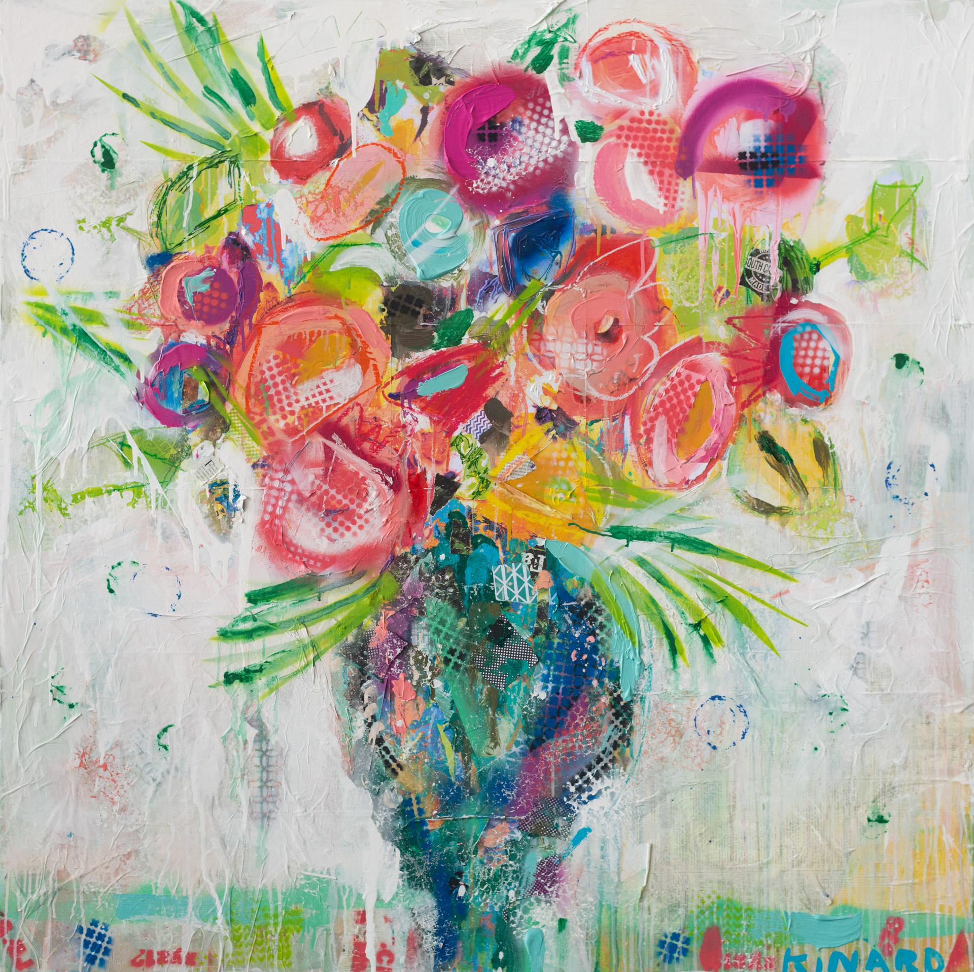 Fresh Flowers 48x48