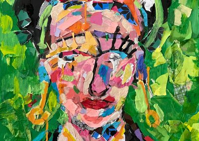 Oh Frida! 18x18 - $1600