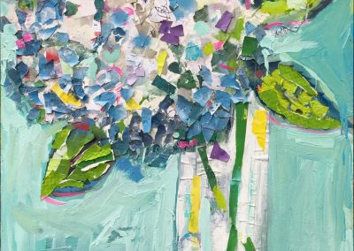 Summer Hydrangea 48x36