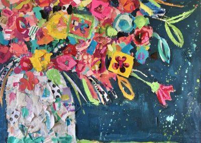 Broken Vase 36x36
